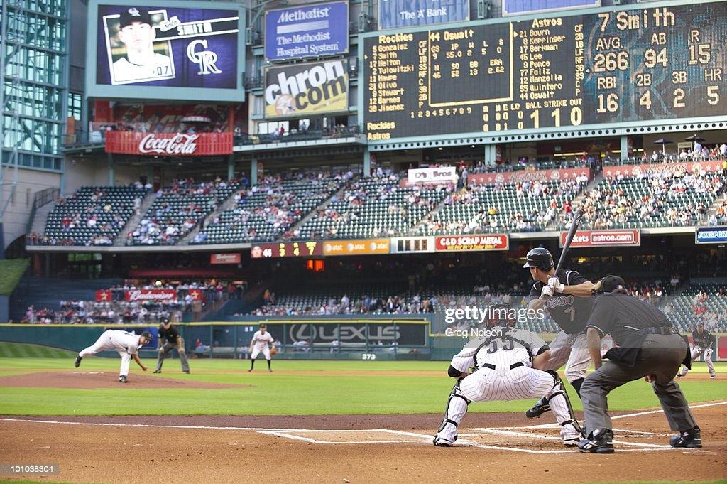 Houston Astros Roy Oswalt (44) in action, pitching vs Colorado Rockies. Houston, TX 5/20/2010