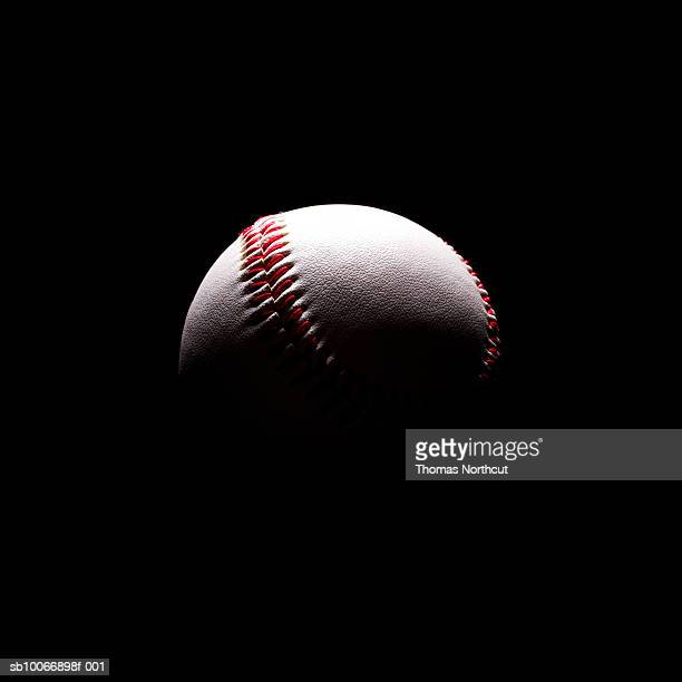 Baseball in shadows