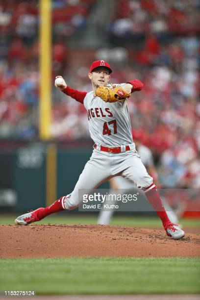 Los Angeles Angels Griffin Canning in action, pitching vs St. Louis Cardinals at Busch Stadium. St. Louis, MO 6/21/2019 CREDIT: David E. Klutho