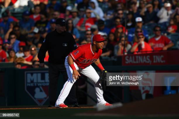 Los Angeles Angels Luis Valbuena during game vs Toronto Blue Jays at Angel Stadium Anaheim CA CREDIT John W McDonough