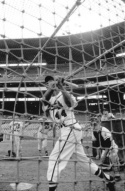 Milwaukee Braves Hank Aaron... Pictures | Getty Images