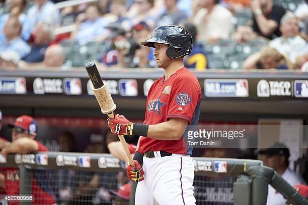 Futures Game: Team USA Joey Gallo during at bat vs Team World during MLB All-Star Summer at Target Field. Minneapolis, MN 7/13/2014 CREDIT: Tom Dahlin