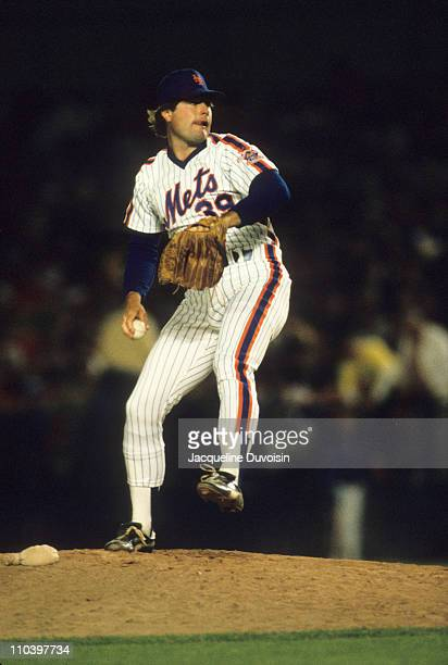 New York Mets Doug Sisk in action, pitching vs Pittsburgh Pirates at Three Rivers Stadium. Game 1 of doubleheader.Pittsburgh, PA 6/6/1986CREDIT:...