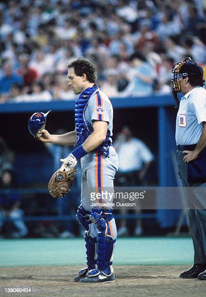 New York Mets Gary Carter during game vs Pittsburgh Pirates at Three Rivers Stadium. Pittsburgh, PA 6/7/1986 CREDIT: Jacqueline Duvoisin