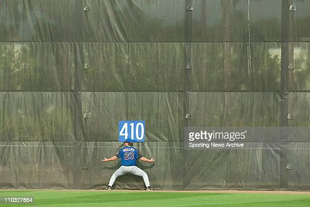 Baseball - New York Mets Jason Phillips during Spring Training in Port St. Lucie, Florida on Feb. 23, 2005.