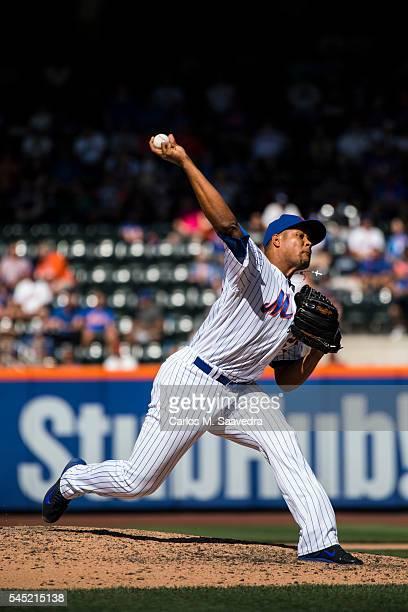 New York Mets Jeurys Familia in action, pitching vs Kansas City Royals at Citi Field. Flushing, NY 6/22/2016 CREDIT: Carlos M. Saavedra