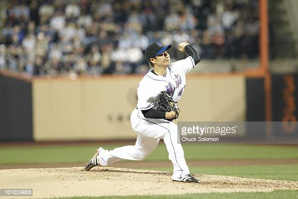 New York Mets Ken Takahashi in action pitching vs New York Yankees Flushing NY 5/21/2010 CREDIT Chuck Solomon
