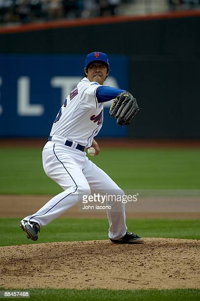 New York Mets Ken Takahashi in action pitching vs Pittsburgh Pirates Flushing NY 5/9/2009 CREDIT John Iacono