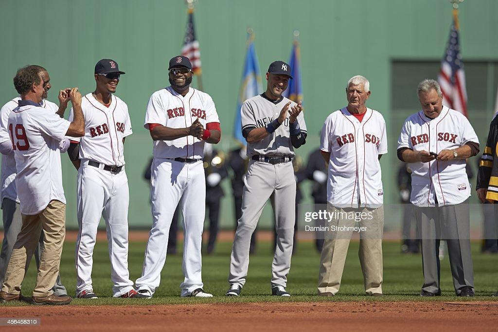 Images EmbarqueesLicence New York Yankees Derek Jeter 2 Being Honored On Field Before Game Vs Boston