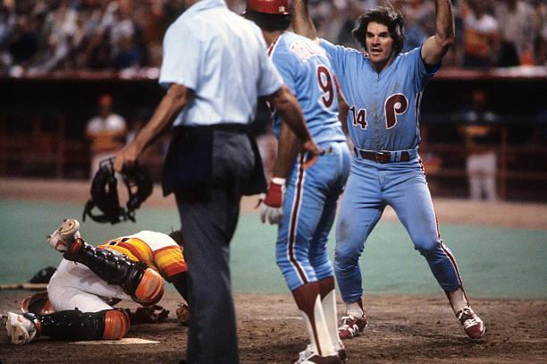 Houston Astros Vs Philadelphia Phillies 1980 National League