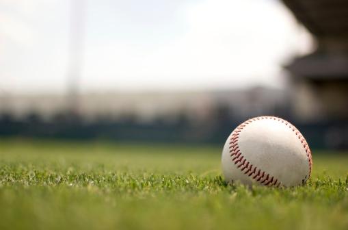 Baseball on Field 147703751