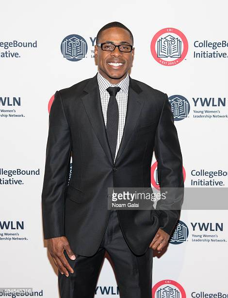 Baseball outfielder Curtis Granderson attends the 2016 CollegeBound Initiative celebration at Jazz at Lincoln Center on May 26 2016 in New York City