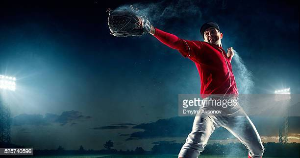 Stadio di Baseball-pitcher