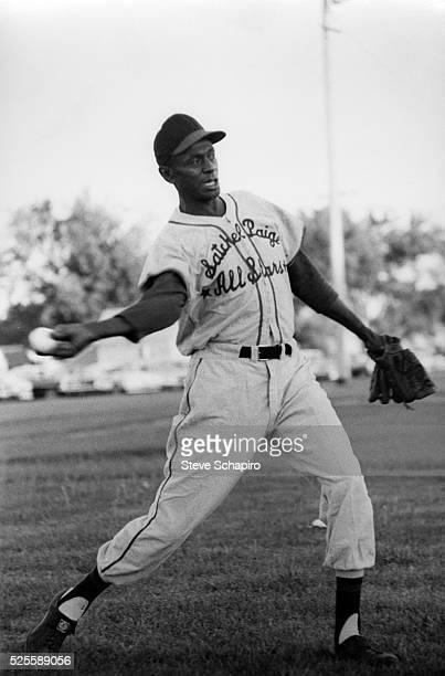 Baseball pitcher Satchel Paige
