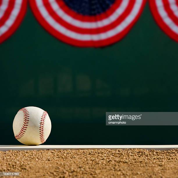 baseball - pitcher's mound world series - bunting stock pictures, royalty-free photos & images
