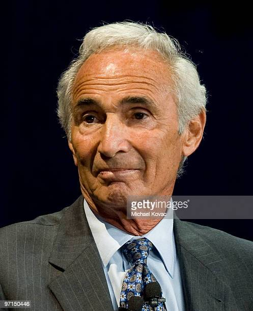 Baseball pitching legend Sandy Koufax appears at 'Koufax and Torre Safe At Home' to help raise money for the Safe At Home Foundation at Nokia Theatre...