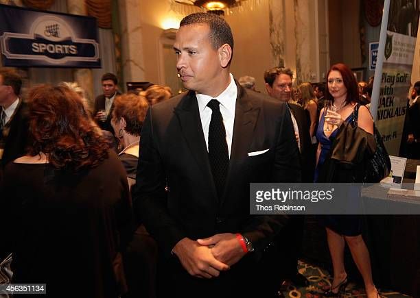 Baseball player Alex Rodriguez attends the 29th Annual Great Sports Legends Dinner to benefit The Buoniconti Fund to Cure Paralysis at The Waldorf...
