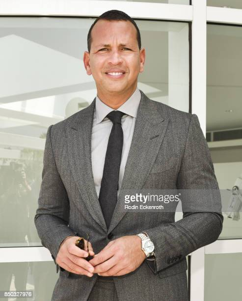Baseball player and Founder CEO of AROD Corp Alex Rodriguez attends the premiere of ABC's 'Shark Tank' Season 9 at The Paley Center for Media on...