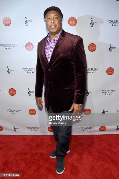 Baseball Player and Musician Bernie Williams attends the Little Kids Rock Benefit 2017 at PlayStation Theater on October 18 2017 in New York City