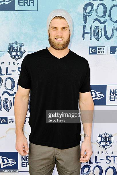 Baseball player Bryce Harper attends the New Era Pool House at MLB AllStar Week at Palomar Hotel on July 12 2016 in San Diego California