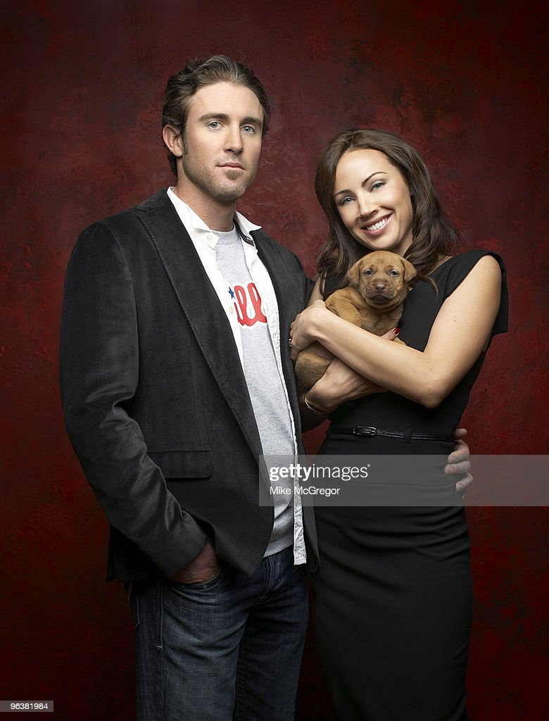 Baseball player Chase Utley and his wife Jenn Utley are photographed for Philadelphia Magazine.