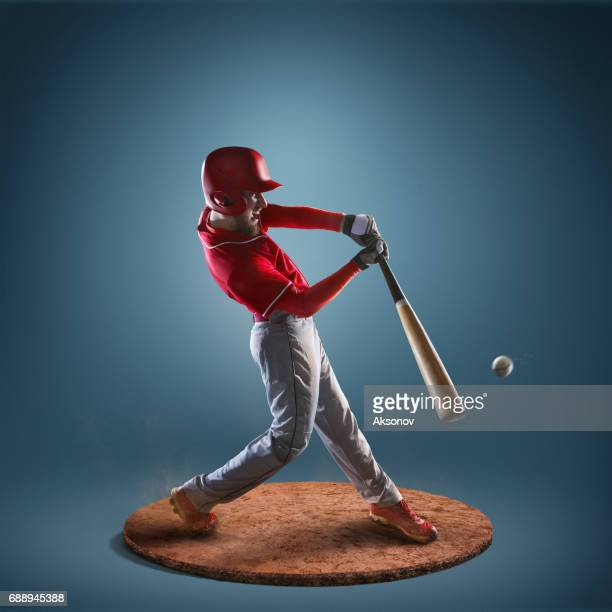 Baseball  player in action