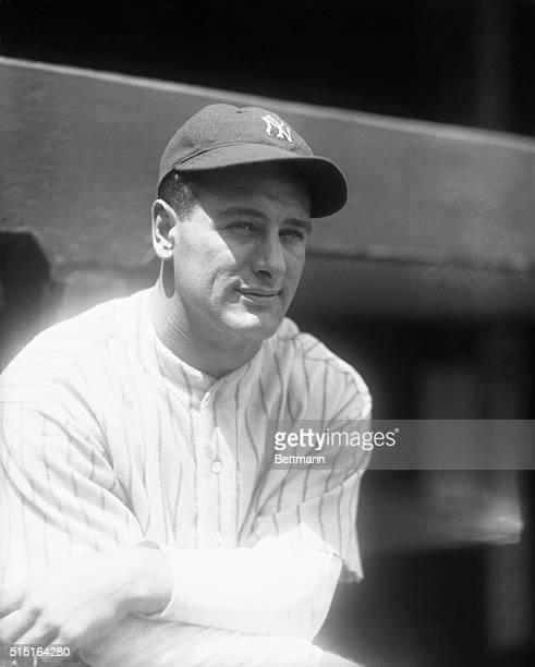 Baseball Player Lou Gehrig