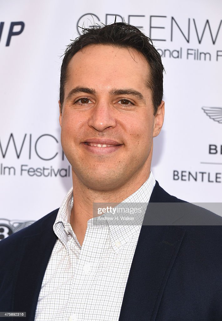 Baseball player Mark Teixeira attends Greenwich Film Festival 2015 - Sports Guys On Sports Movies Premiere & After Party at Cole Auditorium at Greenwich Library on June 4, 2015 in Greenwich, Connecticut.