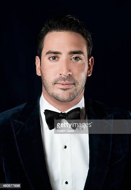 Baseball player Matt Harvey is photographed at the 6th Annual African Children's Choir Changemakers Gala on November 20 2014 at City Winery in New...