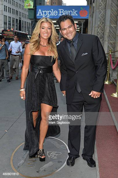 Baseball Player Michelle Mangan Johnny Damon attends the Happy Hearts Fund 10 Year Anniversary Tribute of the Indian Ocean Tsunami at Cipriani 42nd...
