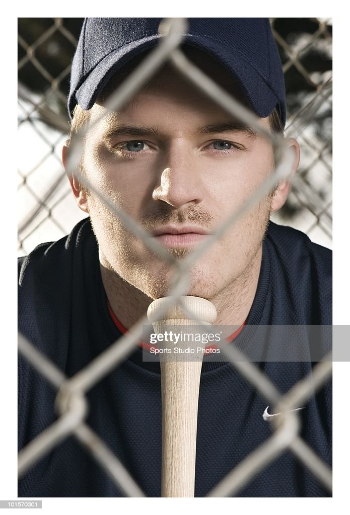 Baseball player photographed circa 2009 in Southern, California.