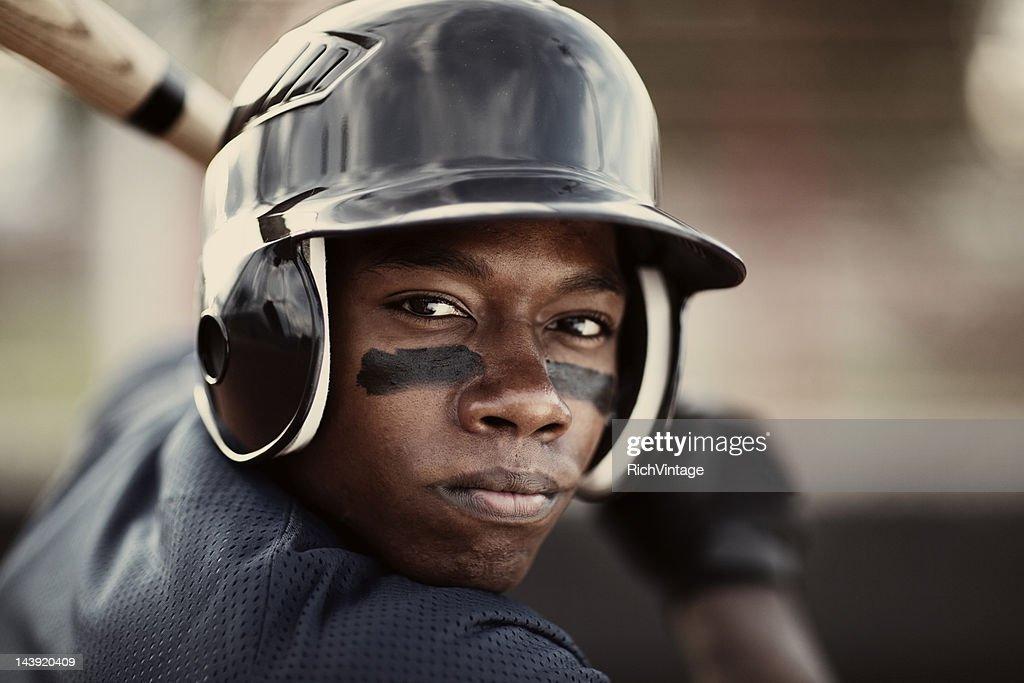 Giocatore di Baseball : Foto stock