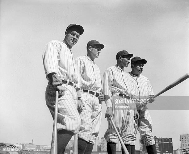 Baseball Players Babe Ruth and Lou Gehrig
