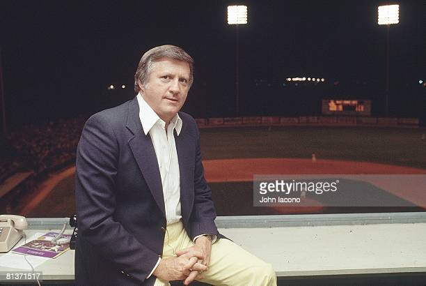 Baseball Portrait of New York Yankees owner George Steinbrenner during spring training at Fort Lauderdale Stadium Fort Lauderdale FL 3/25/1978