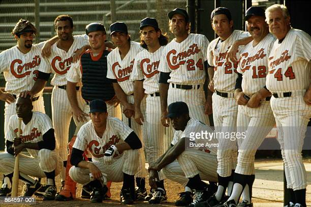 baseball, portrait of team - baseball team stock pictures, royalty-free photos & images