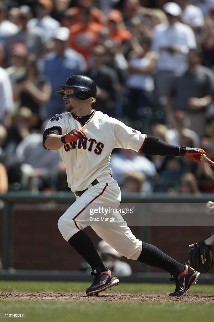 San Francisco Giants Cody Ross (13) in action, at bat vs Florida Marlins at AT&T Park. Brad Mangin F114 )
