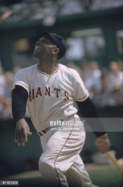 Baseball San Francisco Giants Willie Mays in action during spring training Phoenix AZ 3/6/1958