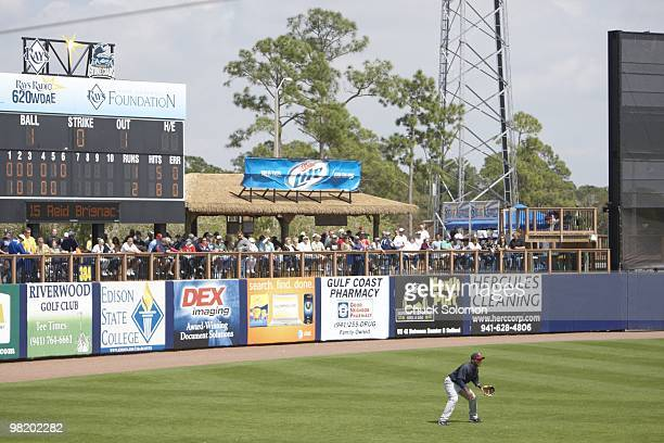 Scenic view of Tampa Bay Rays vs Minnesota Twins during spring training at Charlotte Sports Park. Port Charlotte, FL 3/17/2010 CREDIT: Chuck Solomon