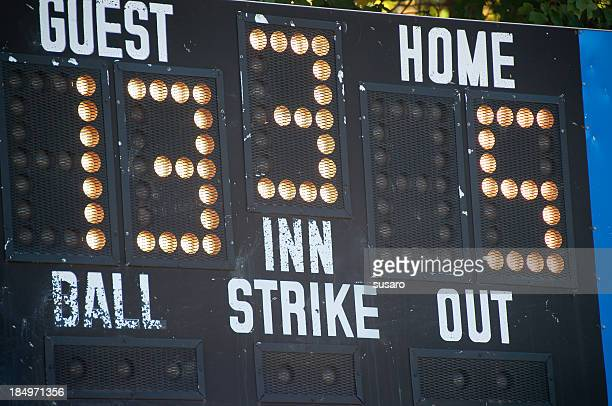 Baseball Score Borad