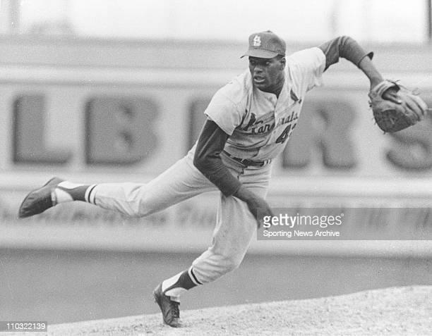 MLB Baseball St Louis Cardinals Bob Gibson in an undated photo