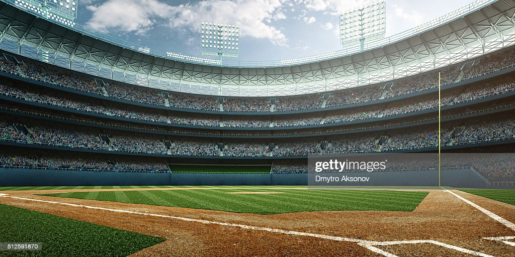 Baseball diamond stock photos and pictures getty images baseball stadium malvernweather Image collections