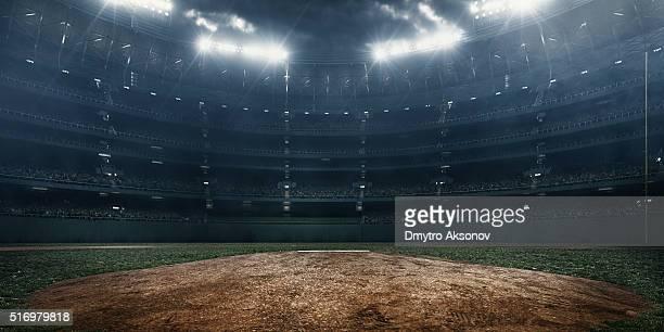 stade de baseball - terrain de baseball photos et images de collection