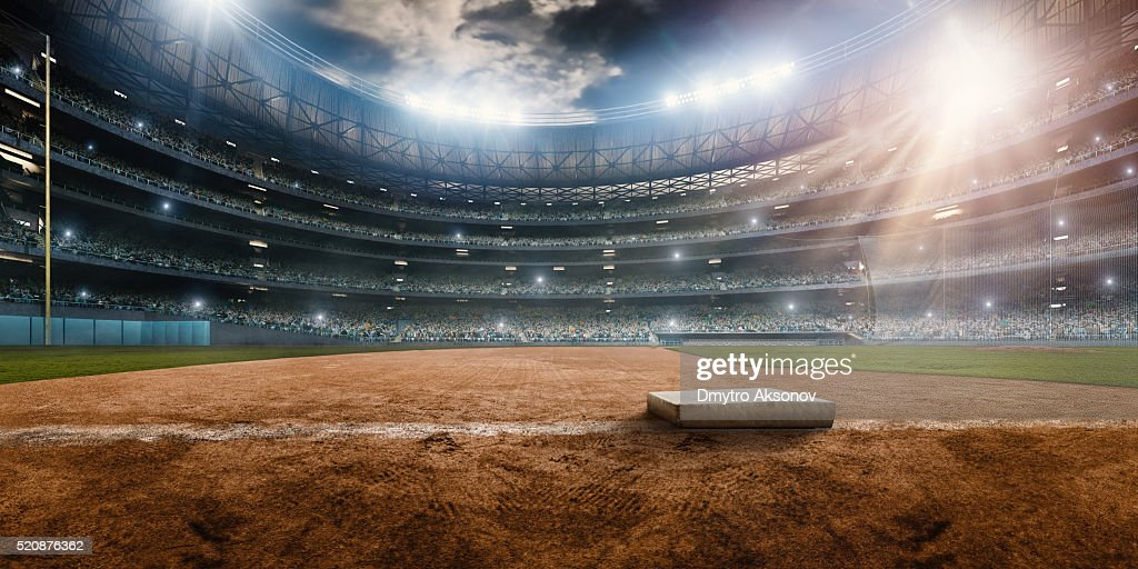 Stadio di Baseball : Foto stock