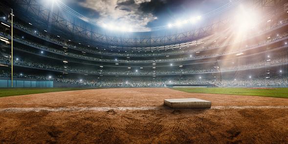 Baseball stadium 520876362