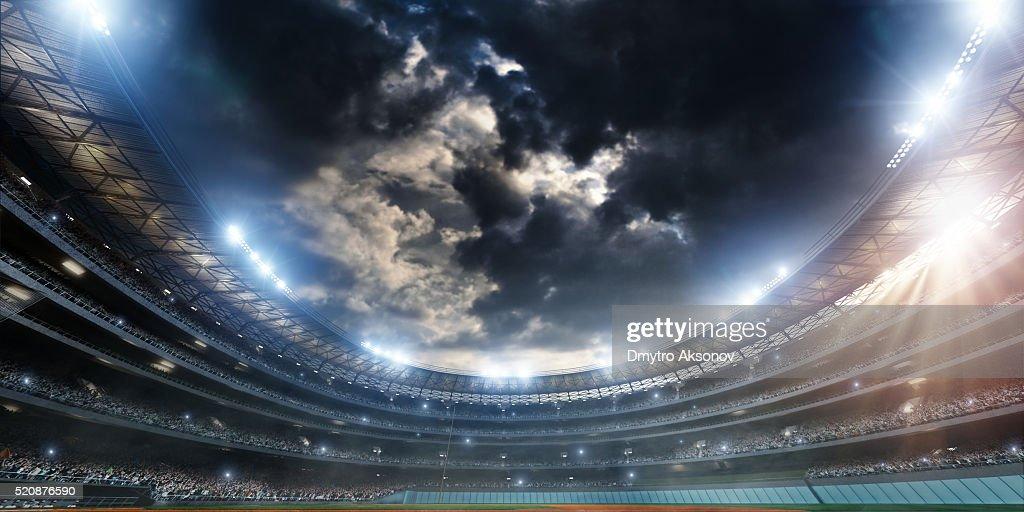 Baseball stadium : Stock Photo