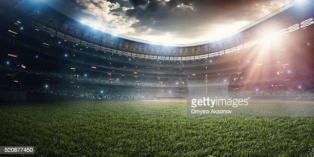 baseball stadium - football field stock pictures, royalty-free photos & images