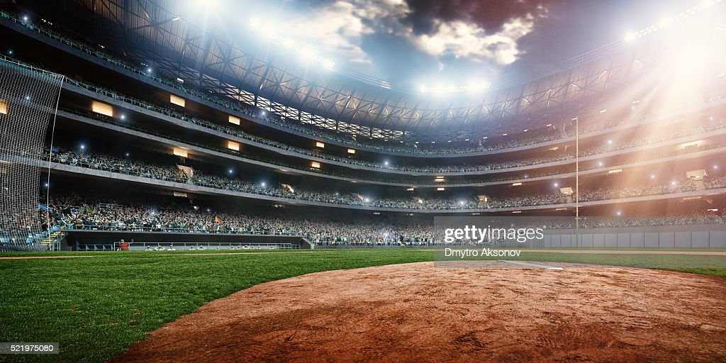 Baseball stadium : Stock Photo