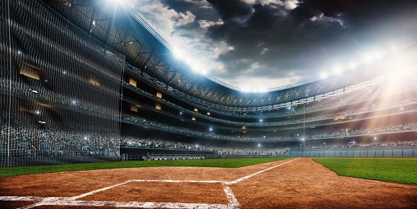 Baseball stadium 523831948