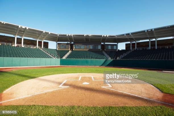 baseball stadium - home base sports stock pictures, royalty-free photos & images