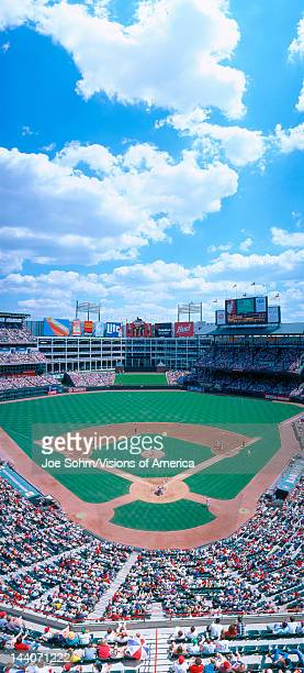 Baseball stadium Texas Rangers v Baltimore Orioles Dallas Texas